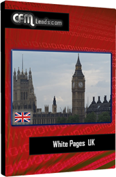 White Pages UK - CFMLeads com- Sales Leads, Mailing Lists